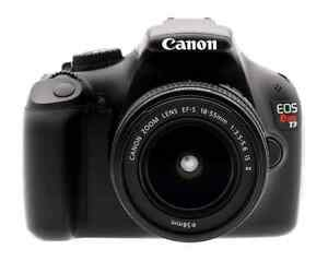 Canon EOS Rebel T3 12.2MP Digital SLR Camera with EF-S 18-55mm Windsor Region Ontario image 1