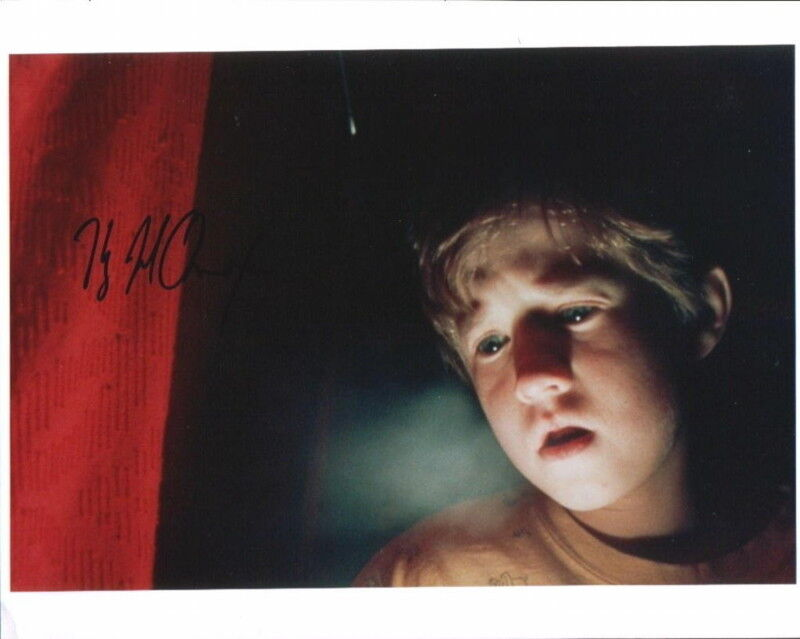 "HALEY JOEL OSMENT.. ""I See Dead People"" (The Sixth Sense) SIGNED"