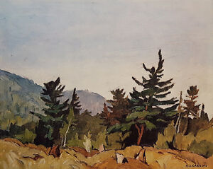 """A.J. Casson """"Woodland Combermere"""" Lithograph - Appraised at $575"""