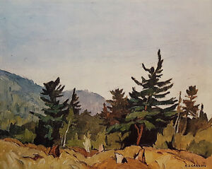 "A.J. Casson ""Woodland Combermere"" Lithograph - Appraised at $575"