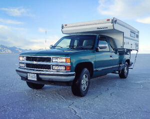 1994 Chevrolet Silverado w Camper - Reduced!