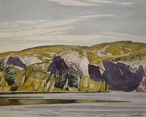 "A.J. Casson ""Summer Lake Mazinaw"" Litho - Appraised at $500"