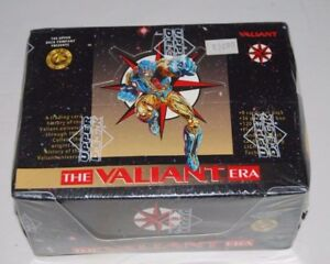 1993 Upper Deck THE VALIANT ERA Factory Sealed Box with 36 Packs