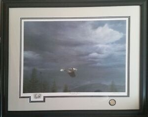 """""""THROUGH THE STORM"""", By Michael Pape Windsor Region Ontario image 1"""