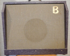 Beltone Tube Amp it's Purple with Weber Blue Pup Speaker
