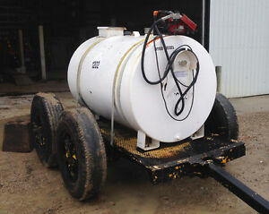 500 Gallon Dual Wall Fuel Tank with Pump