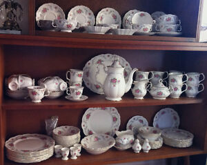 Judy please email re: Your LARGE Royal Albert Complete china Set