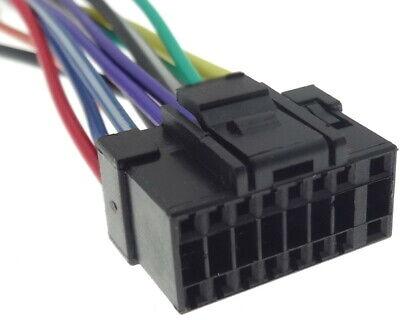 Alpine (3) Enchufe el Adaptador de Radio Coche Cable din Iso Conexión...