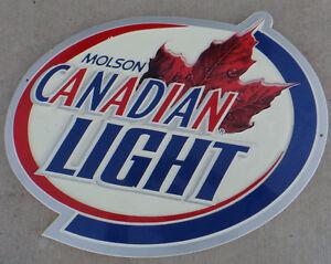 Molson beer sign from Travellers Motor Inn