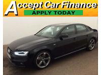 Audi A4 2.0TDI Black Edition FINANCE OFFER FROM £119 PER WEEK!