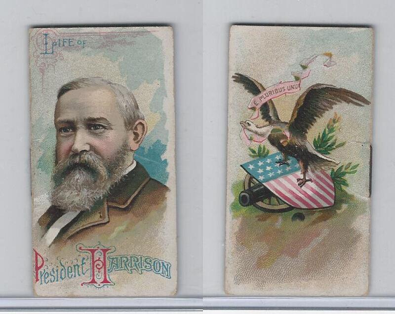 N79 Duke, Histories Poor Boys & Other Famous People, 1889, Harrison President