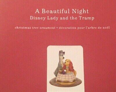 Lady and the Tramp: A Beautiful Night (Disney) - 2019 Hallmark Keepsake ornament