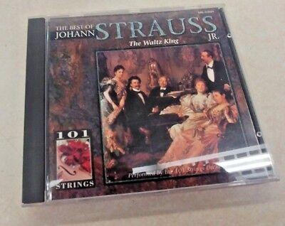 The Best of Johann Strauss Jr - the Waltz King - Audio CD ()