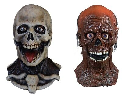 Halloween Return of the Living Dead Party Time Skeleton & Tarman GET BOTH Masks - Halloween Party Time