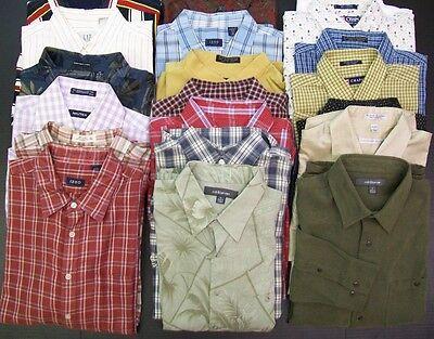 20 PC Mixed Lot Men Dress Shirts Wholesale Clothing RESALE THRIFT BOUTIQUE