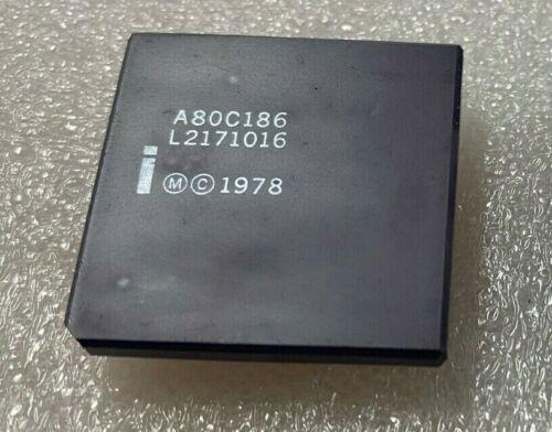 A80C186 INTEL MICROPROCESSOR CPU X 1 PC.