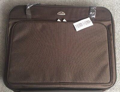 Samsonite Garment Bag Suitcase Large BROWN NWT