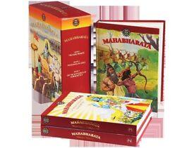 Mahabharata (Set of 3 Volumes) - amar chitra katha