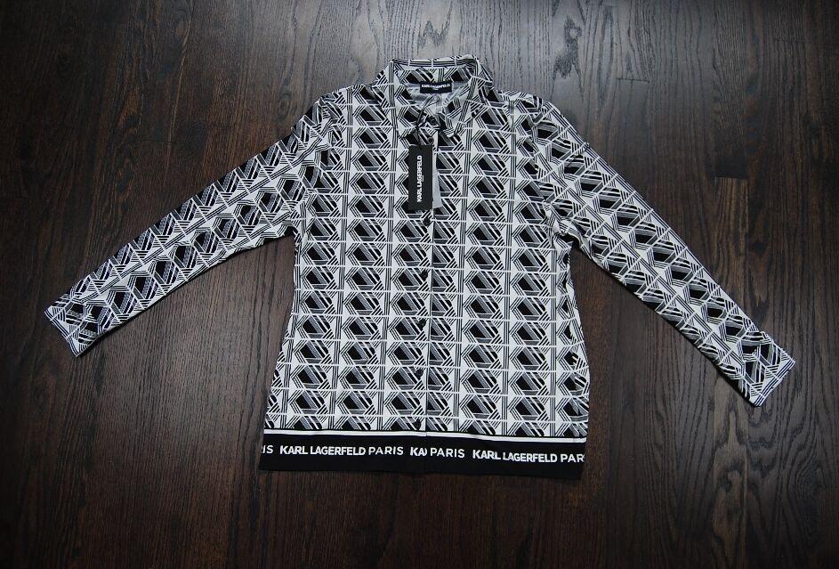 Karl Lagerfeld Paris Women's designer shirts in 2 prints $70