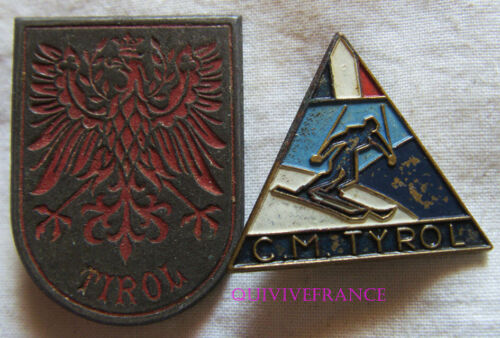 SK2116 - Badges Club Military of / The Tyrol, Landscape Painted, Ciel Clair