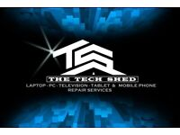 THE TECH SHED - LAPTOP - PC - TELEVISION - TABLET & MOBILE PHONE REPAIR