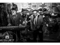 Band available for weddings, corporate events and birthdays