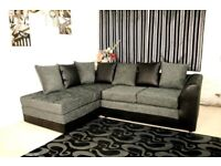 SALE OFFER AVAILABLE ON ALL NEW DYLAN CHENILLE FABRIC CORNER & 3+2 SEATER SOFA SET IN STOCK