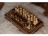 Brand New Hand Crafted Wooden Chess