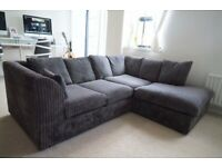 😮AMAZING COUCHES IS STOCK😮 💯BRAND NEW💯 DYLAN JUMBO CORD CORNER SOFA ON SALE ORDER