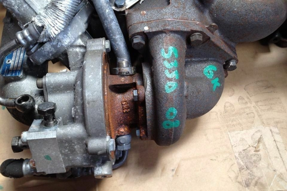 Bmw E60 535d Turbo Injector Breaking BMW 1 3 5 6 7 X1 X3 X5 X6