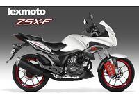 *Brand New* Lexmoto ZSX-F (CBF) 125. Warranty. Free Delivery. Main Dealer. Learner Legal