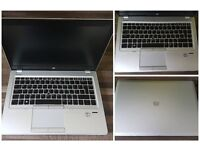 HP Elitebook Ultrabook - i5 3rd gen, 8GB RAM, 250GB SSD, Windows 10 Pro.