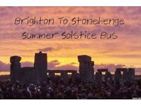 The Summer Solstice Lemon Bus- Brighton to Stonehenge Return