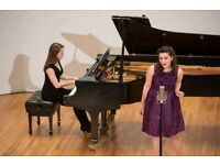 Concert pianist giving piano lessons to adults & children - all levels - ages 5+