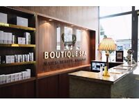 FULL-TIME RECEPTIONIST REQUIRED FOR BUSY BEAUTY SALON
