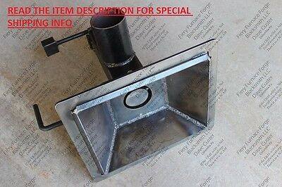 Welded Blacksmithing Firepot 10x12-inch - For Blacksmith Coal Forge