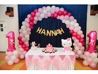 Balloon Decoration /Chair Cover Hire /Birthday Decoration /Wedding Decoration