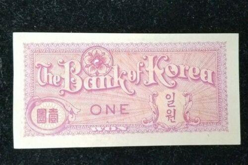 The Bank of Korea $1 Dollar Won P#11A (Unc) I297