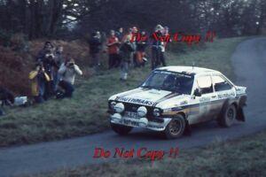 Ari Vatanen & David Richards Ford Escort RS1800 RAC Rally 1981 Photograph 3