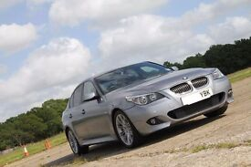 Excellent example of a BMW 525d M Sport, full leather, sat nav, Bluetooth