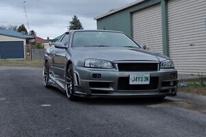 NISSAN R34 25GT SKYLINE MANUAL Lithgow Lithgow Area Preview
