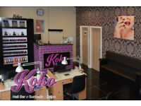 busy city centre salon looking for a beautician