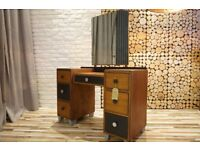 DRESSING TABLE, CHEST OF DRAWERS, SIDEBOARD SHABBY CHIC, VINTAGE,RETRO,solid wood (FREE DELIVERY)