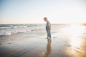 Sunset Family Session at Sherkston Shores