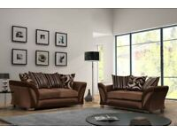 🤎💥 BEST QUALITY SHANNON CORNER/ 3+2 SEATER SOFA, WITH FREE DELIVERY🤎💥