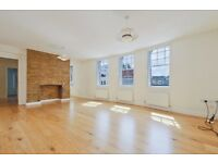 CAMDEN HIGH STREET, NW1: 2 Double Bedroom Flat, Unfurnished, Hardwood Floors, Exposed Brick Wall