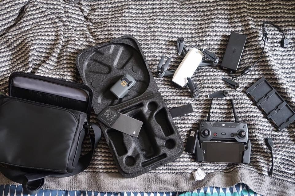 DJI Spark Drone fly more combo + accessories in FCC mode | in Perry Barr,  West Midlands | Gumtree