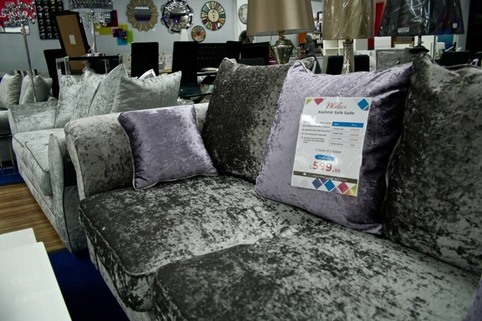 Plush Kashmir Sofas and Chairs Available for Delivery