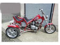 Road Legal Show Trike Kawasaki engined ZX1100 MOT ready px Runs well