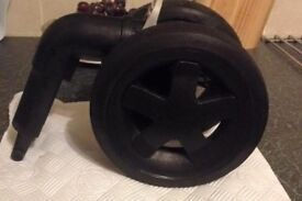 QUINNY BUZZ FRONT WHEEL- used
